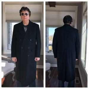 Elder Beerman Jackets & Coats - Black 100% Wool Topcoat